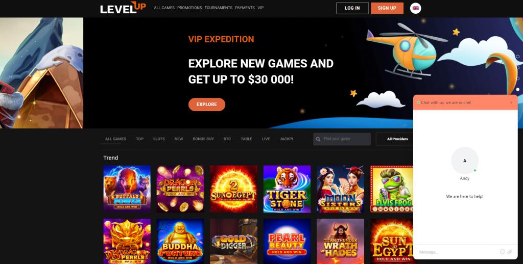 Level up Casino