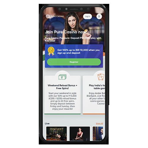 Mobile Pure Casino App